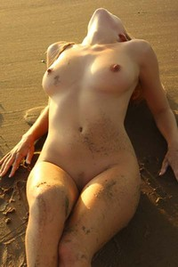 Model Hayley Marie in Beach
