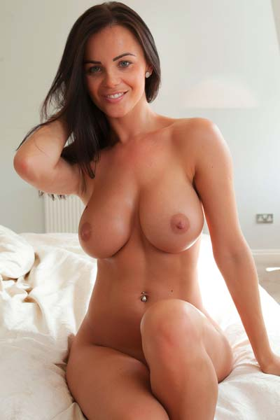 Model Emma Glover in Waking