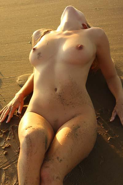 Model Hayley Marie in Beach