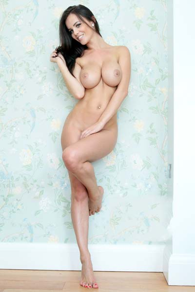 Model Emma Glover in No title
