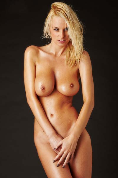 Model Rhian Sugden in Raw