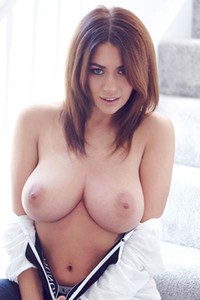 Model Holly Peers in Home Body