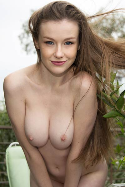 Model Emily Bloom in Fruitiful
