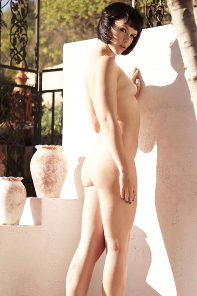 Model Mellisa Clarke in A Quiet Beauty